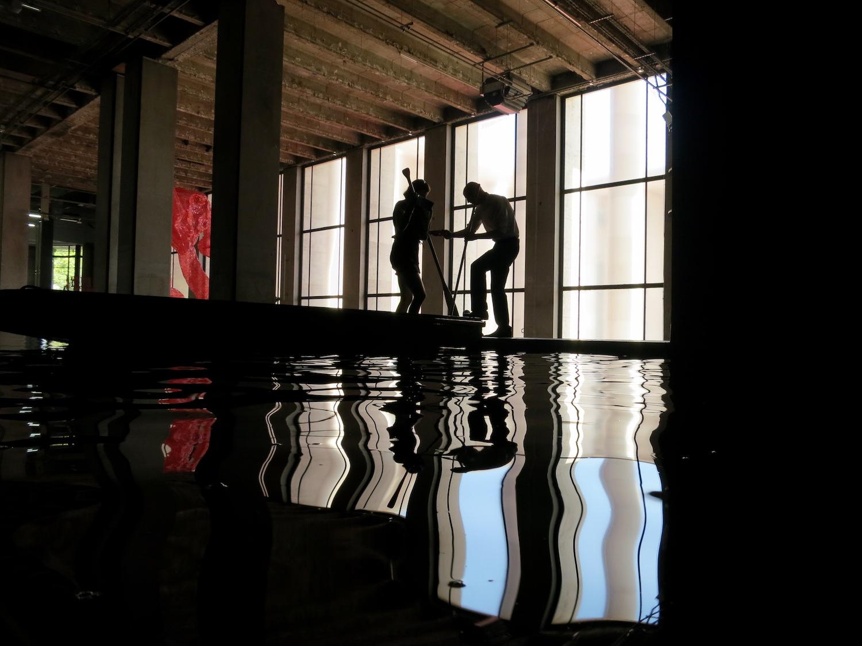 Céleste Boursier-Mougenot -  Palais de Tokyo Photo: Sylvia Davis.jpeg