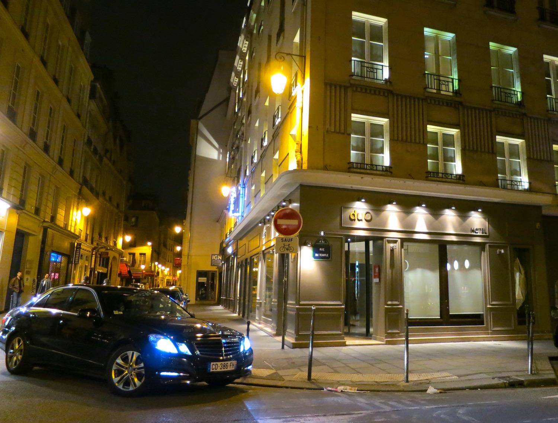 Hotel Duo Paris ©Sylvia Davis