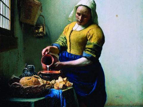 Johannes Vermeer, The Milkmaid ©Rijksmuseum
